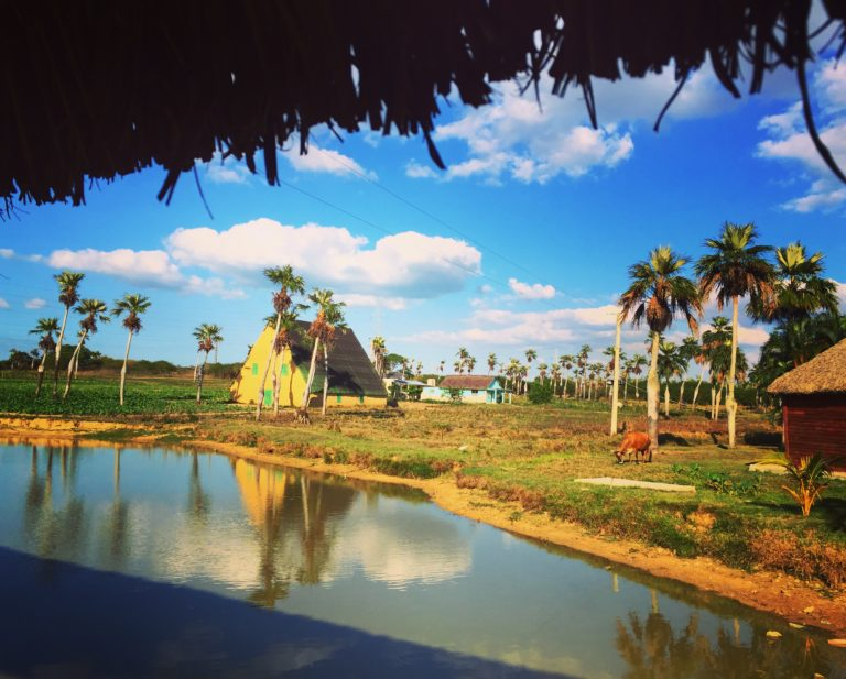 Beautiful roadside stop off on the bus from Havana to Viñales, Cuba