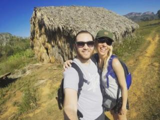 Enjoying a day trekking solo in the Viñales National Park, Cuba
