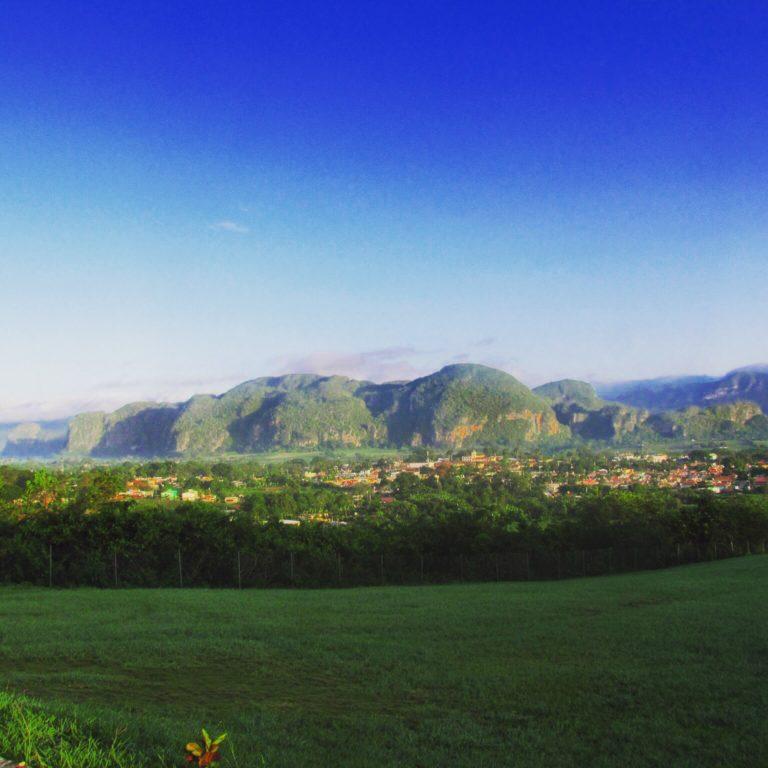 Gorgeous views from Hotel Ermirta, Viñales, Cuba
