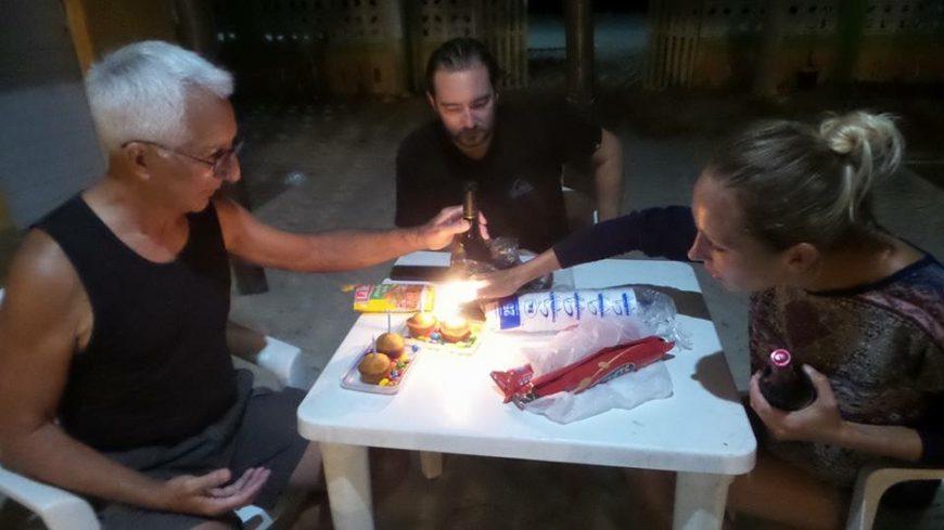 Destination Addict - Birthday celebrations with new friends - Celestún,  Mexico