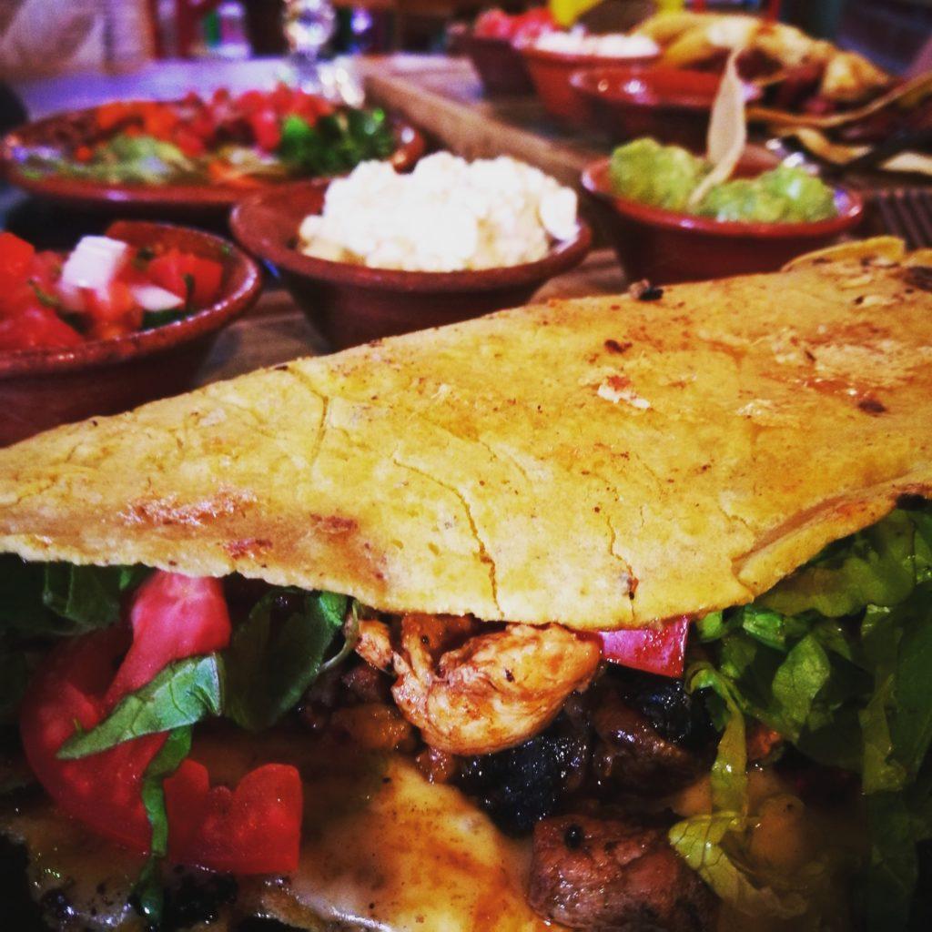 The 'Muerte De Hambre' at La Lupe Cocina de Maiz y de Agave, San Cristóbal de las Casas, Mexico