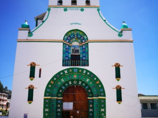 Day trips from San Cristobal de Las Casas - The Templo San Juan, in the town of San Juan Chamula, Mexico with our guide