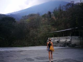 Wandering around an old coffee finca just outside of San Pedro La Laguna, Guatemala