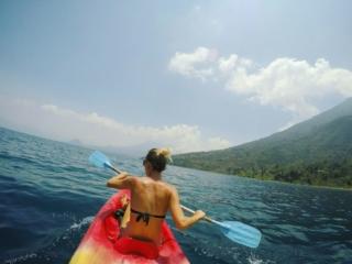 Awesome kayak views from the lake - Things to do in San Pedro, Lake Atitlan