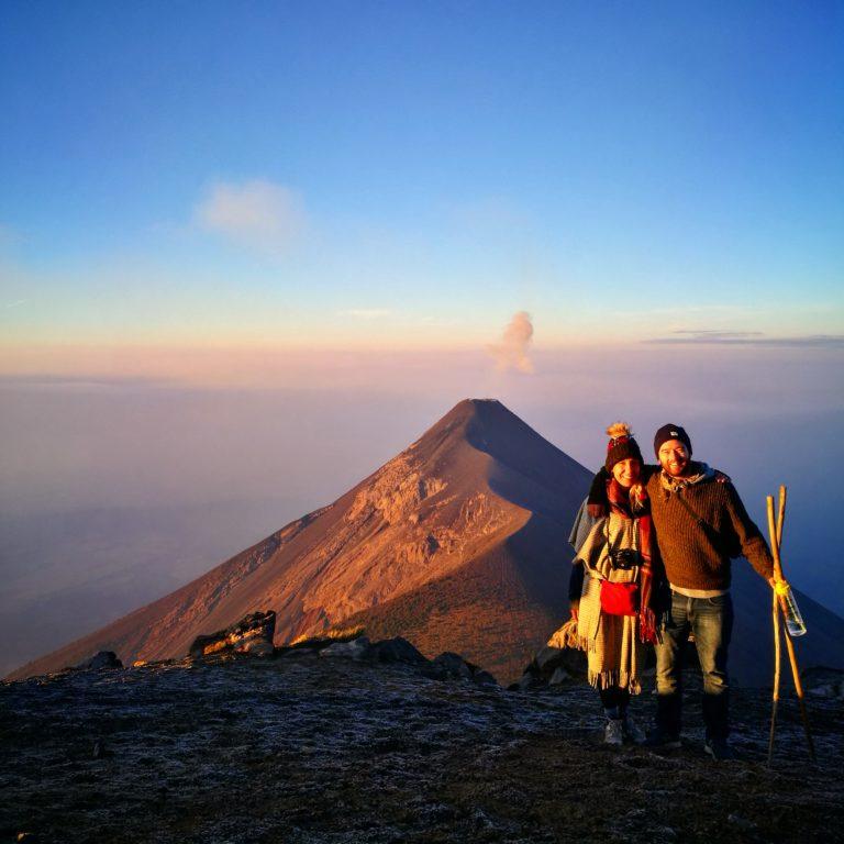 Hiking Volcan de Acatenango - Backpacking in Guatemala