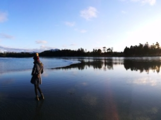 Tofino, Vancouver Island - Taking it all in at MacKenzie Beach