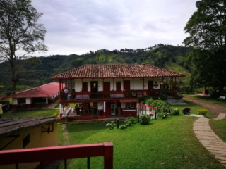 El Ocaso coffee finca & its beautiful surroundings