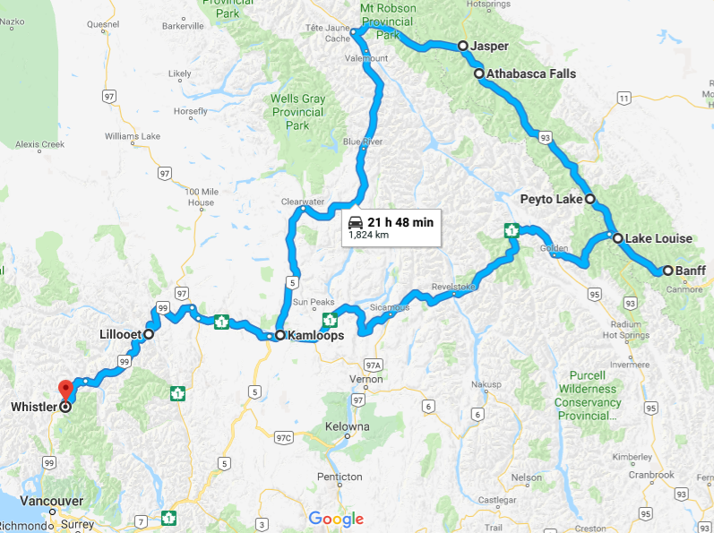 Icefields Parkway Map on bow valley parkway map, cowboy trail map, milford road map, jasper map, taconic state parkway map, kananaskis country map, columbia icefields map, marmot basin map, blue ridge parkway motorcycle map, banff national park map, yellowhead highway map, nova scotia map, great divide mountain bike route map, sunwapta falls map, moraine lake map, tioga road map, lake louise ski resort map, canmore map, lethbridge map, athabasca falls map,