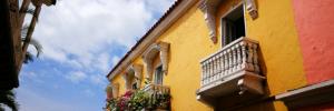 Destination Addict - Colourful buildings of Cartagena, Colombia