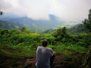 Destination Addict - Above the cloud forest, just taking in the views, Los Pinos Trek, Colombia