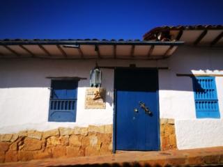 Colonial architecture in Barichara -  El Camino Real Colombia