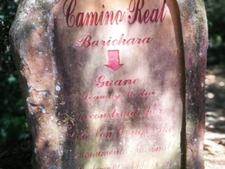 Camino Real Landmark Stone - Barichara to Guane