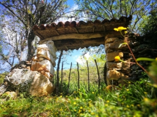 Some of the magnificent stone masonry along the way to Guane, getting off the beaten path in Colombia