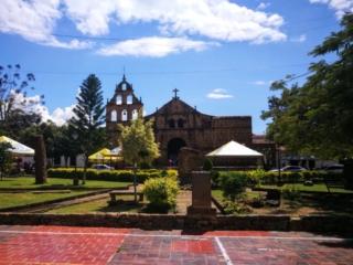 Iglesia de Santa Lucia de Guane, El Camino Real Colombia