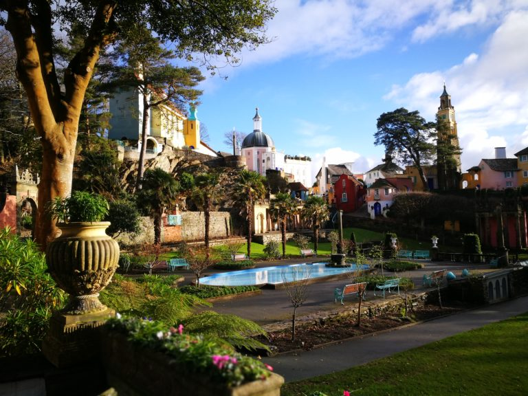 Portmeirion - Where Wales Meets Italy! - A Unique UK Experience - Destination Addict