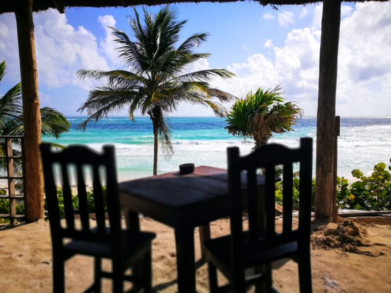 Tulum On A Budget - El Ultimo Maya Beach Club Restaurant