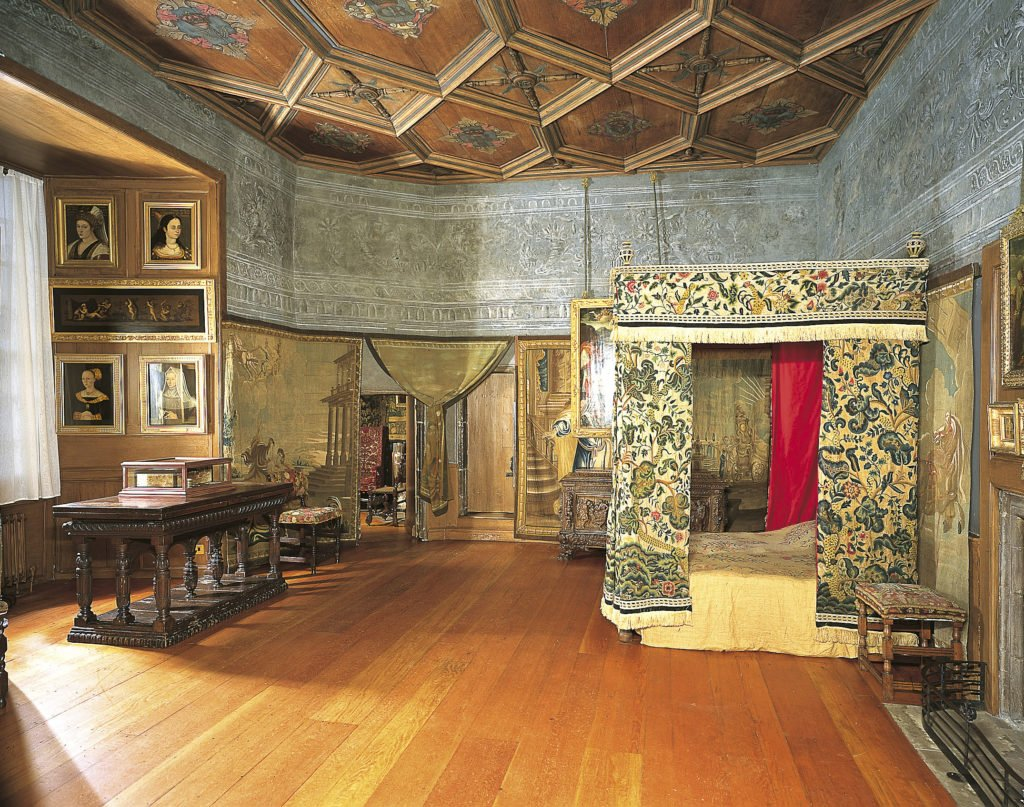 Mary Queen Of Scots Bedchamber, The Palace at Holyroodhouse, Edinburgh. Credit - Royal Collection Trust / © Her Majesty Queen Elizabeth II 2018