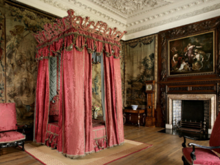The Kings Bedchamber, The Palace at Holyroodhouse, Edinburgh. Credit - Royal Collection Trust / © Her Majesty Queen Elizabeth II 2018 - 24 Hours In Edinburgh