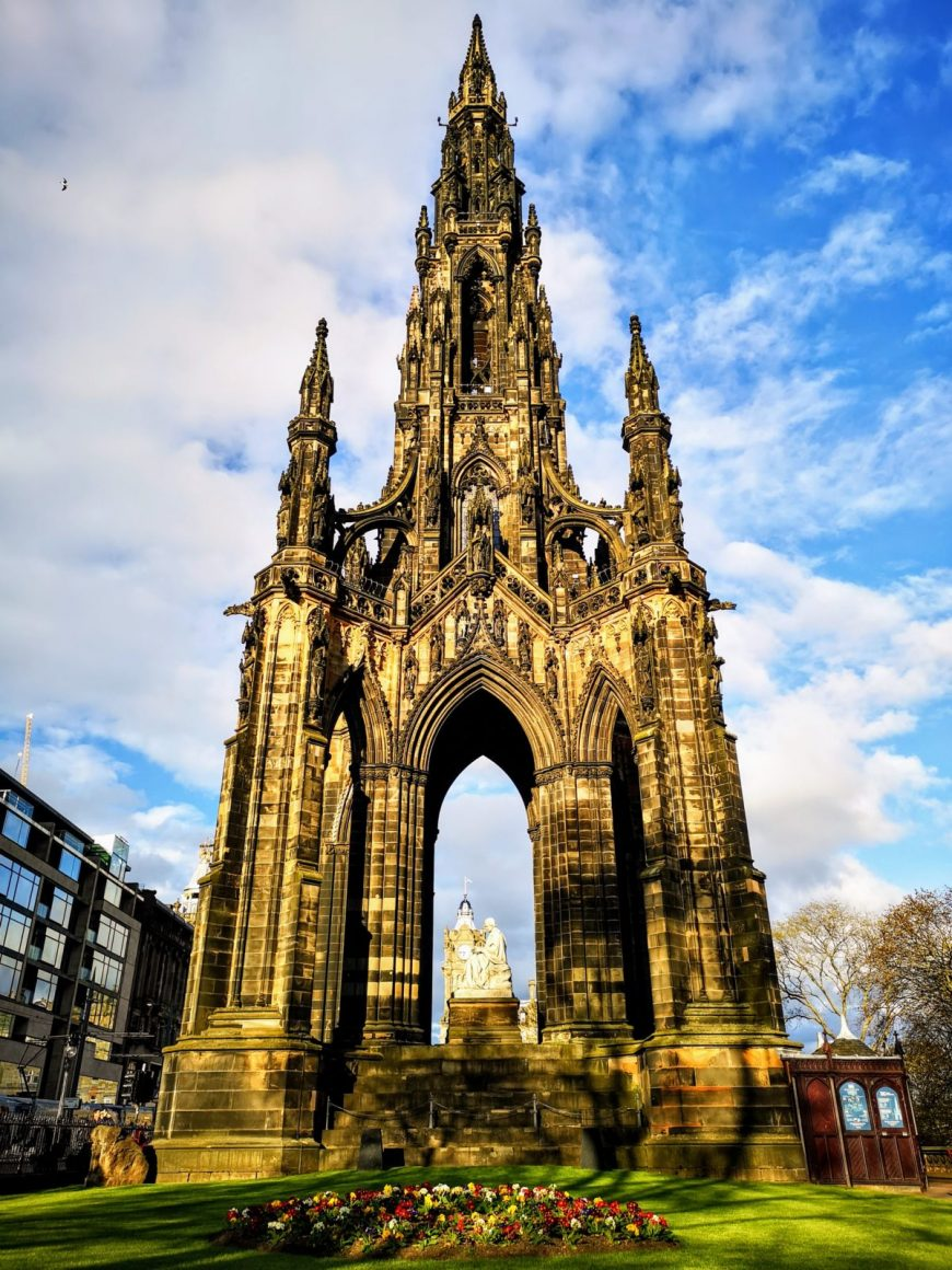 The ornate Scot Monument- Edinburgh In 24 Hours - An Awesome Intinerary!