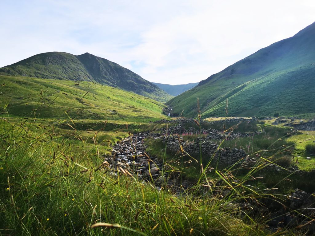 Views in the valley below, Helvellyn trail, Lake District, England - Destination Addict
