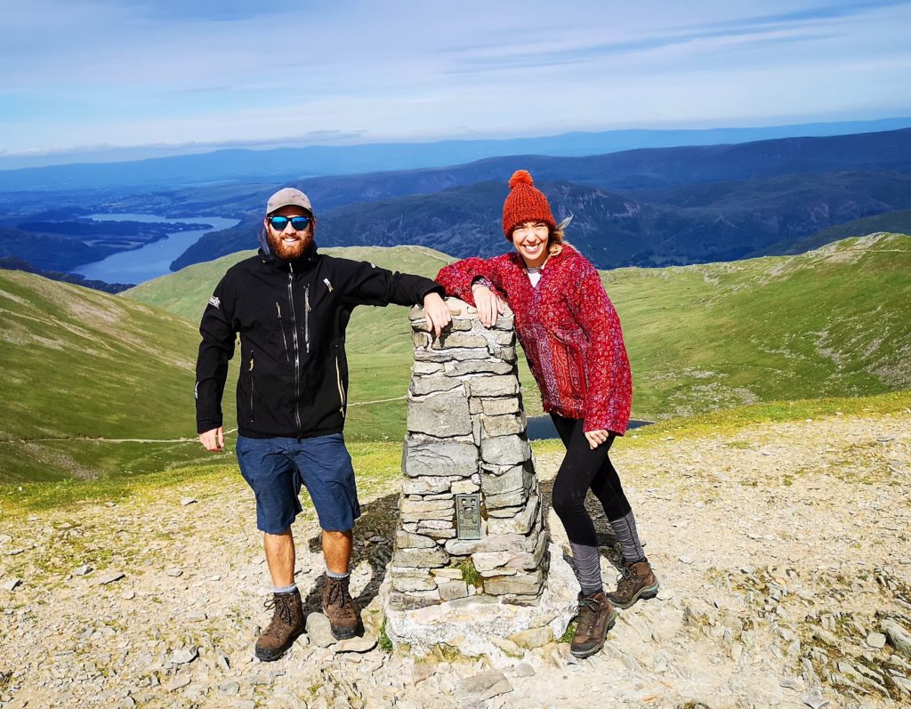 Smiles on Helvellyn's top, Lake District, England - Destination Addict