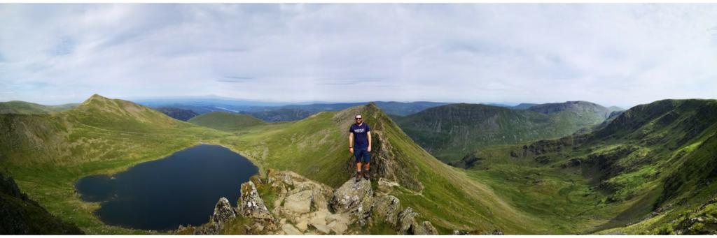 Helvellyn Striding Edge – Our Lake District Three Peaks Challenge - Destination Addict