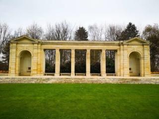 The Bayeux Memorial with  Latin epitaph, Bayeux France - Destination Addict