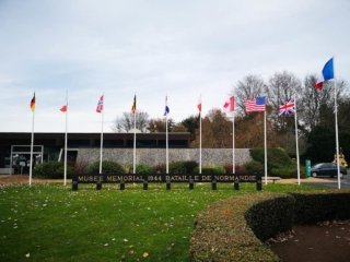 Outside of The Museum Of The Battle Of Normandy, Bayeux France - Destination Addict