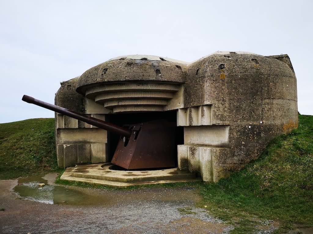 Part of the Nazi Atlantic Wall at Lounges-Sur-Mer, near Bayeux France - Destination Addict
