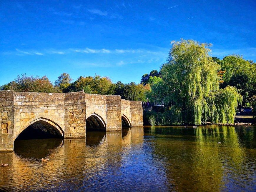 Bridge In Bakewell - Van Life UK - Destination Addict