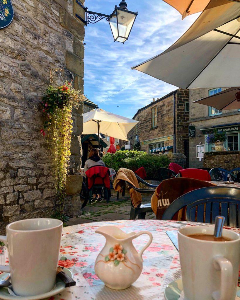 Coffee In Bakewell - Van Life UK - Destination Addict
