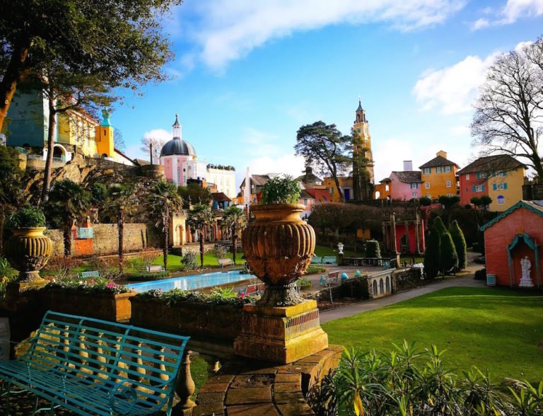 Days Out In North Wales  - Portmeirion, Wales - Destinastion Addict