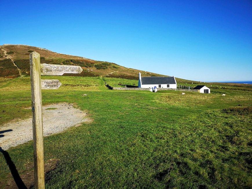 Church and peak walk at Foel Y Mwnt - Van Life UK - Destination Addict