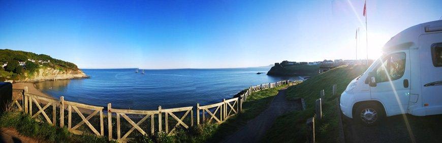 South Wales Coast - Van Life UK - Destination Addict