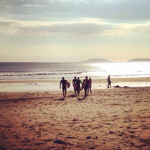 Days Out In North Wales  - Hells Mouth Surf, Wales - Destinastion Addict