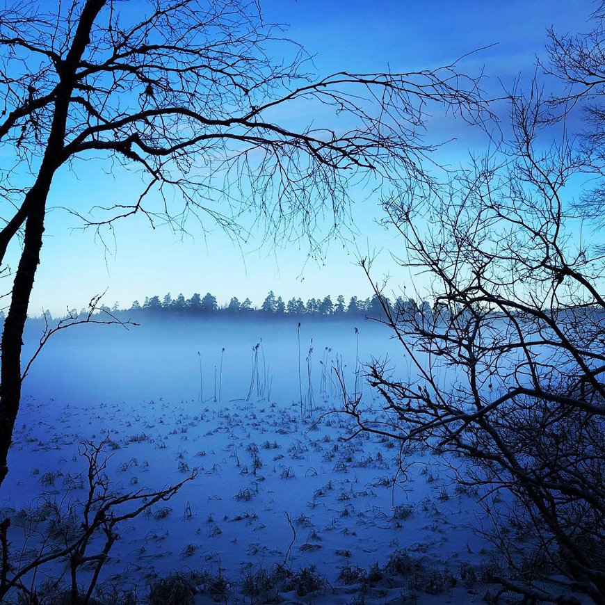Frozen Lake at Smalandstorpet - Remote Places we would love to visit