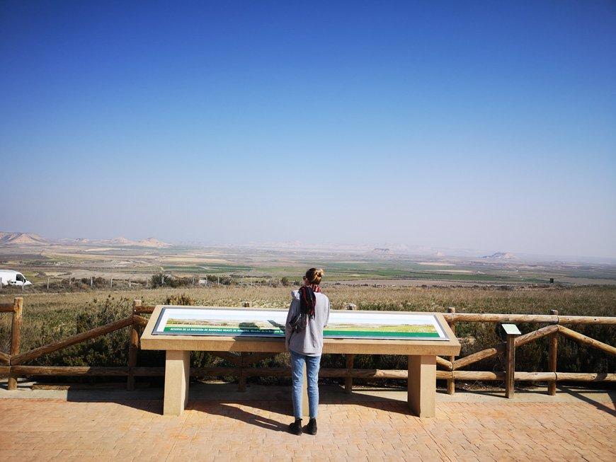 Digital Nomad Life - Just before exploring the Bardenas Reales Natural Park, Spain