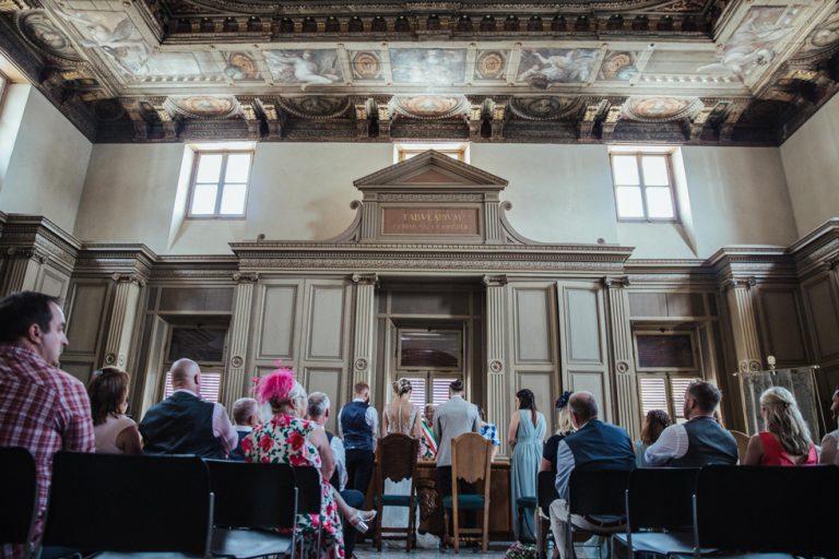Sala del Consiglio - Salo Comune, Lake Garda, Italy