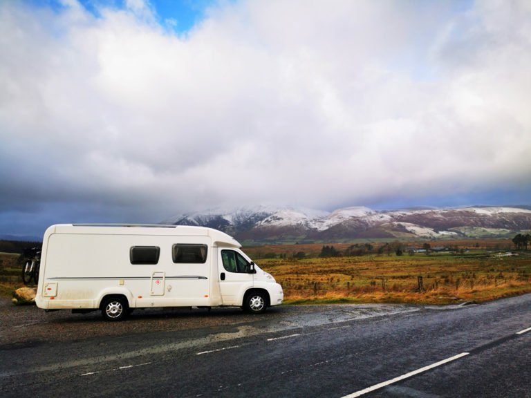 Driving Through The Lake District, UK In December - Winter Van Life Essentials